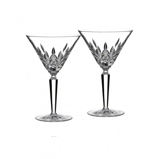 Classic Lismore Cocktail Glass, Pair - House of Moseley
