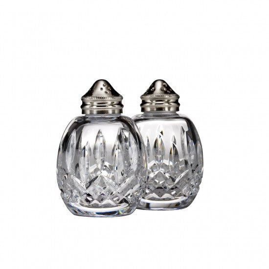 Classic Lismore Round Salt & Pepper - House of Moseley