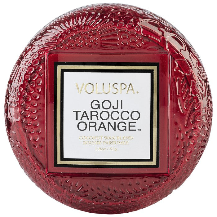 Macaron Candle, Goji Tarocco Orange - House of Moseley