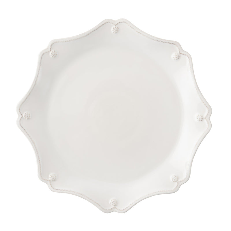 Berry & Thread Whitewash Scallop Charger Plate - House of Moseley