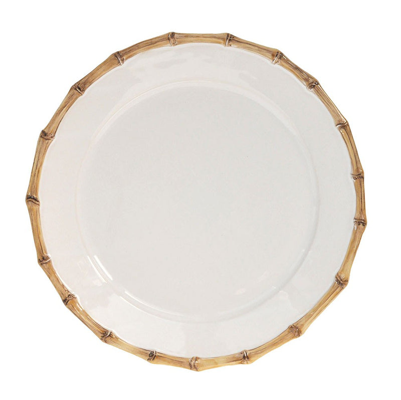 Classic Bamboo Natural Charger Plate - House of Moseley