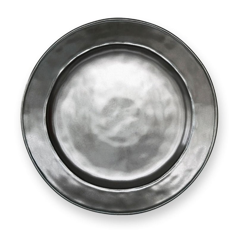 Pewter Stoneware Dinner Plate - House of Moseley