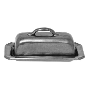 Pewter Stoneware Butter Dish - House of Moseley