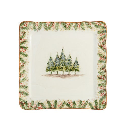 Natale Square Signed Platter - House of Moseley