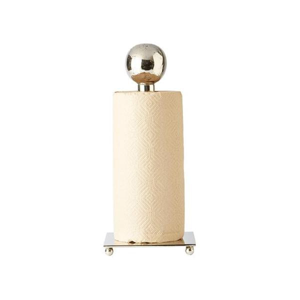 Posada Paper Towel Holder, Nickel - House of Moseley