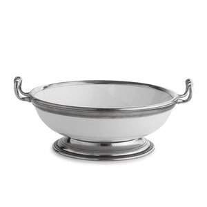 Tuscan Medium Bowl with Handles - House of Moseley