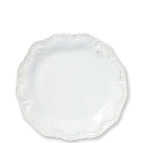 Incanto Stone White Lace Salad Plate - House of Moseley