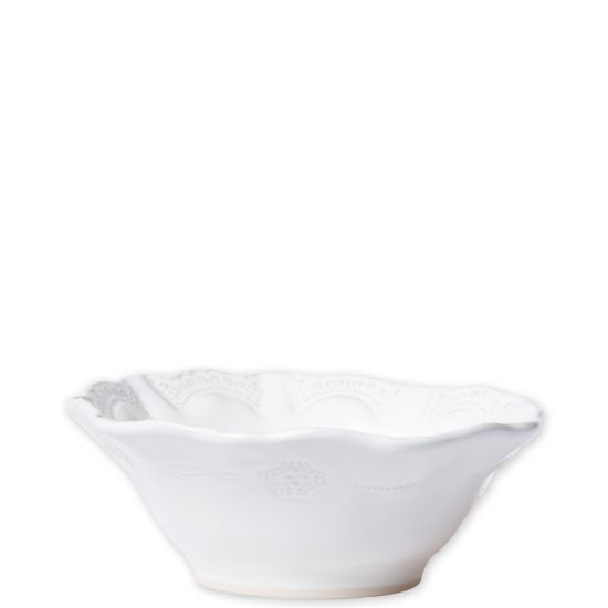 Incanto Stone White Lace Cereal Bowl - House of Moseley
