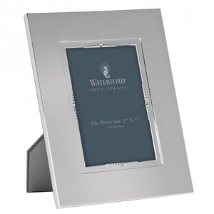 Lismore Bead Silver 5x7 Frame - House of Moseley