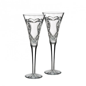 Wedding Toasting Flute, Pair - House of Moseley