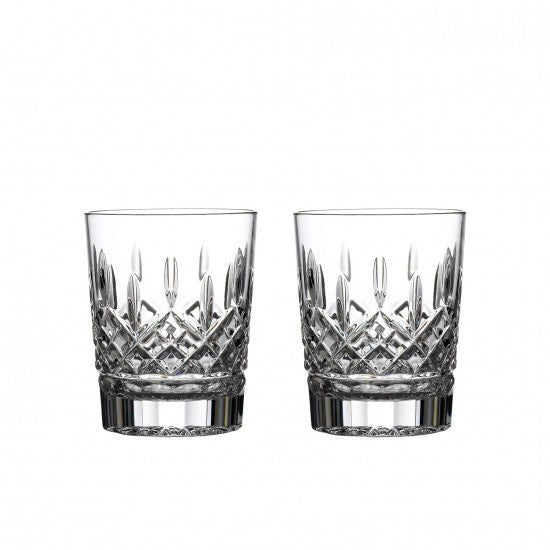 Lismore 12oz Double Old Fashioned, Set of 2 - House of Moseley