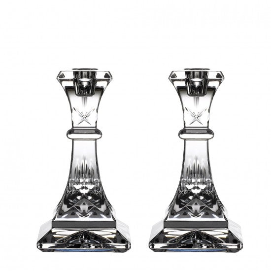 Lismore 6in Candlestick Pair