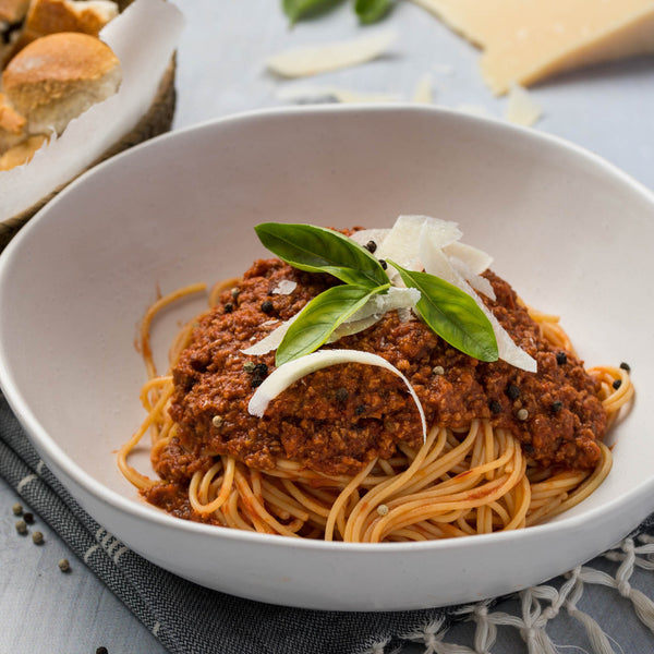 My Chef Healthy Frozen Meals - Beef Spaghetti Bolognaise