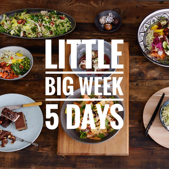 Little Big Week, 5 days of lunch with 5-10% discount