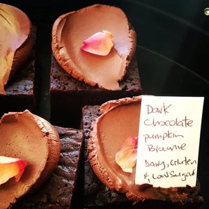 Dark Chocolate Pumpkin Brownie LG, DF, LS