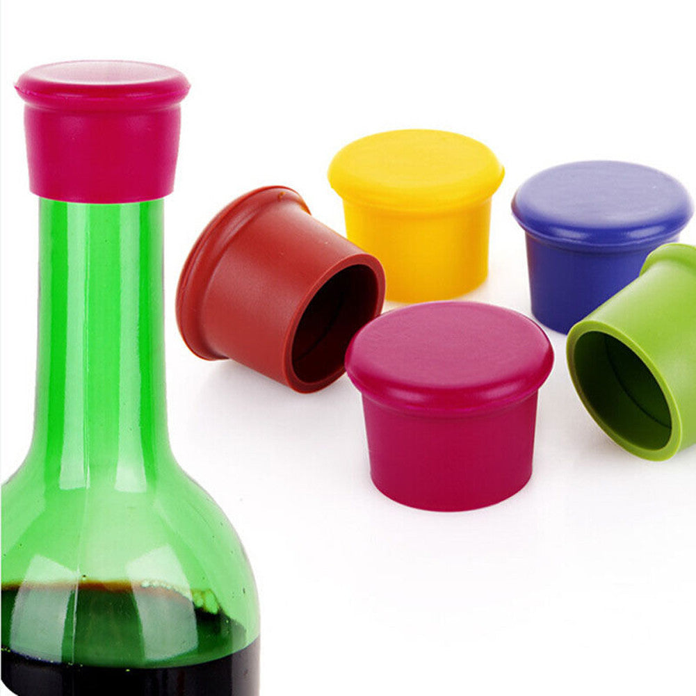 1Pc Silicone Fresh Keeping Wine Stopper