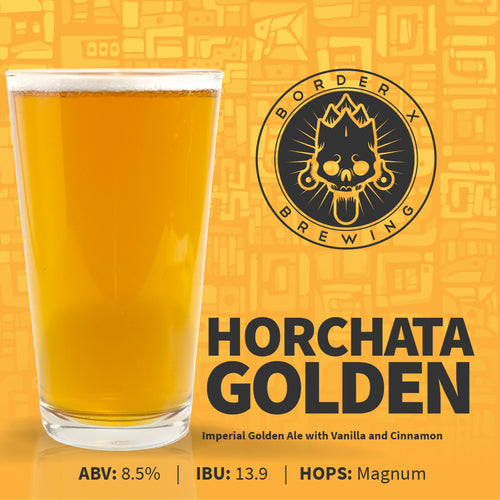 Border X Brewing - HORCHATA GOLDEN