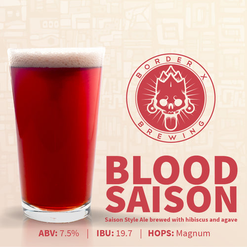 Border X Brewing - BLOOD SAISON