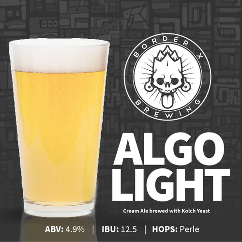 Border X Brewing - ALGO LIGHT