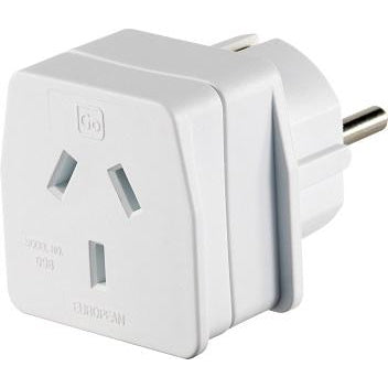 GO Travel European Adaptor GO098
