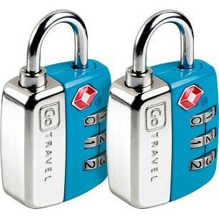 GO Travel Twin Travel Sentry Lock GO344