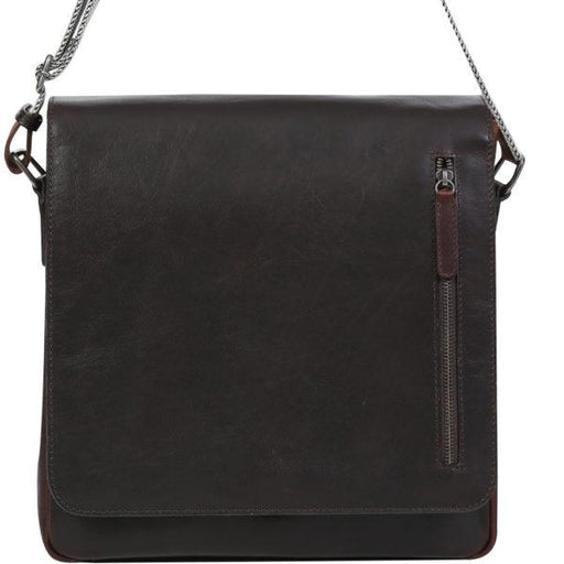 Modapelle Mens Leather Satchel/Crossbody Bag 3914