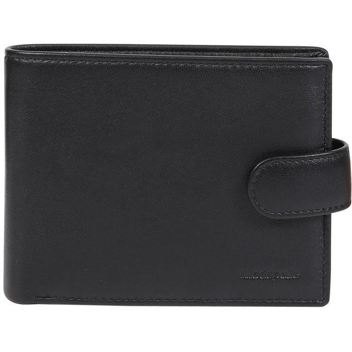Modapelle Men's Leather Multifold Wallet 5016