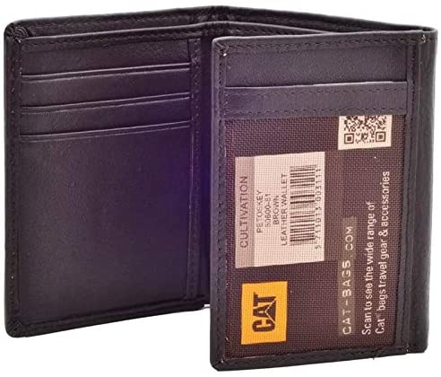 CAT Petoskey Trifold RFID Leather Wallet 80600