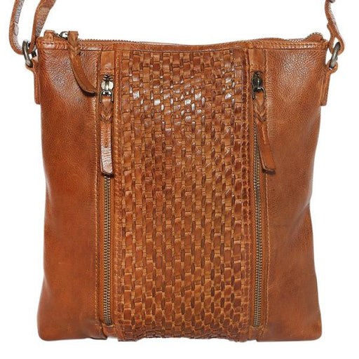 Modapelle Women's Vintage Leather Collection Crossbody Bag 5917