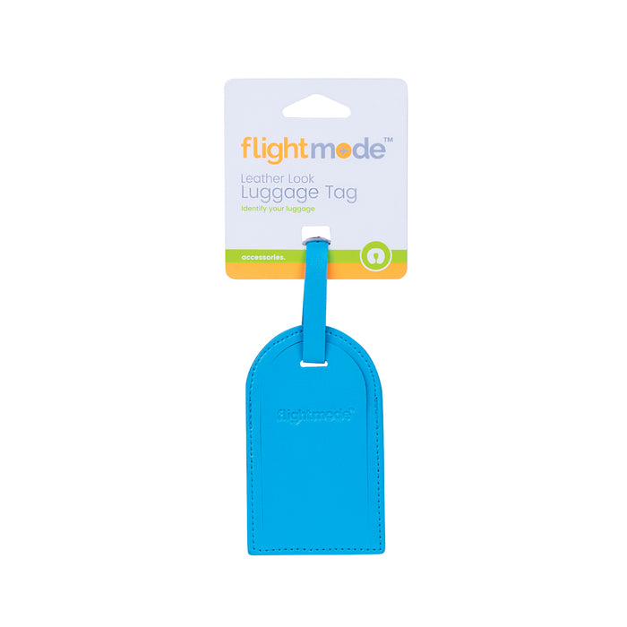 Flight Mode Leather Lock Luggage Tags FM0039