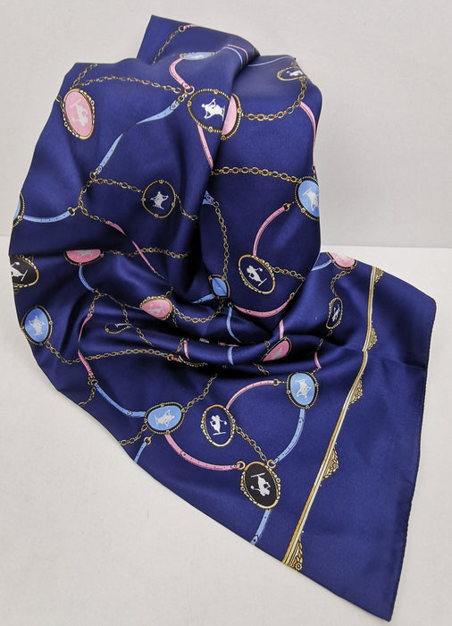 Italian Pure Unisex Silk Scarves. From Italy