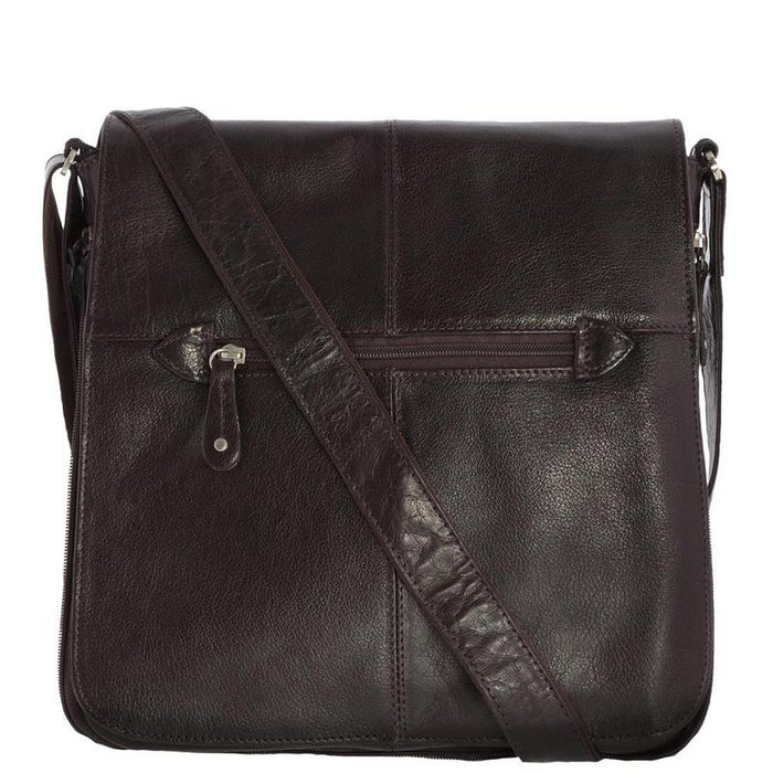 Siricco Italian Leather Alex Crossbody Satchel 44529
