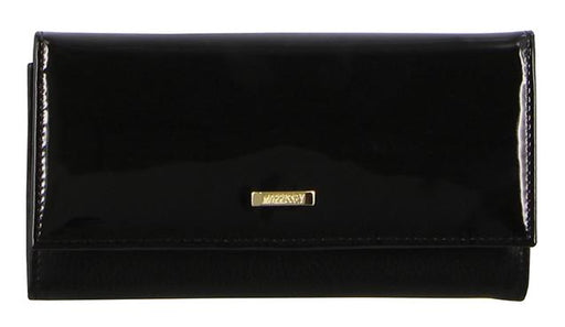 Morrissey Patent Leather Flap Over Wallet MO2878