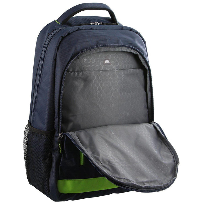 Pierre Cardin Ripstop Nylon Laptop Backpack PC2128