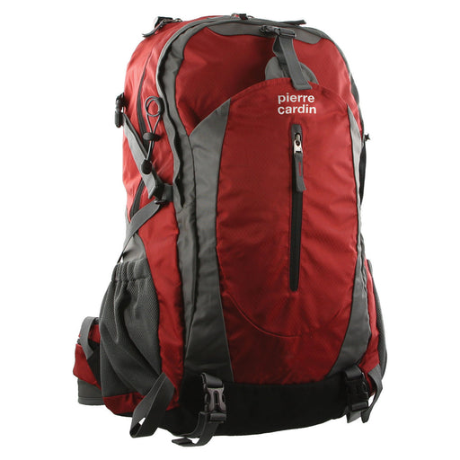 Pierre Cardin Adventure Nylon Laptop Backpack PC2130 - Red