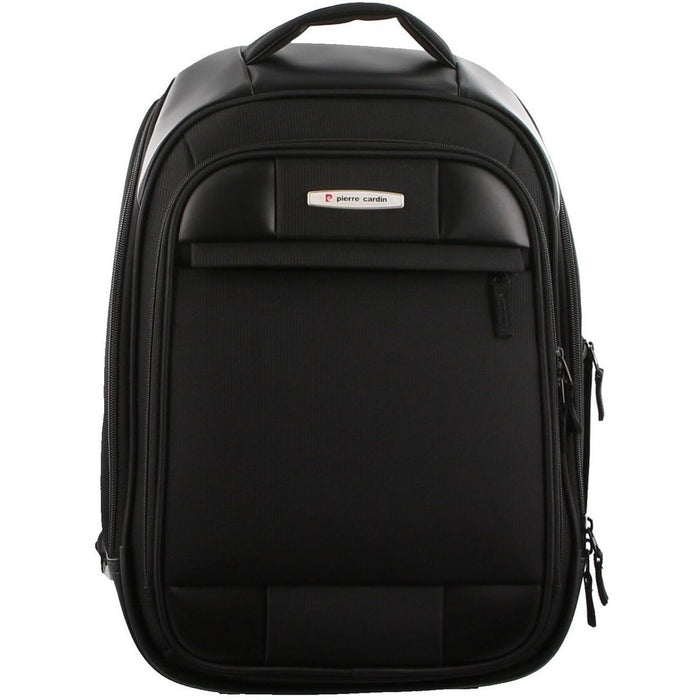 Pierre Cardin Black Nylon Adventure/Laptop Backpack PC2469