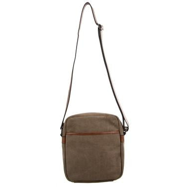 Pierre Cardin Unisex Canvas Cross Body Bag - PC2580