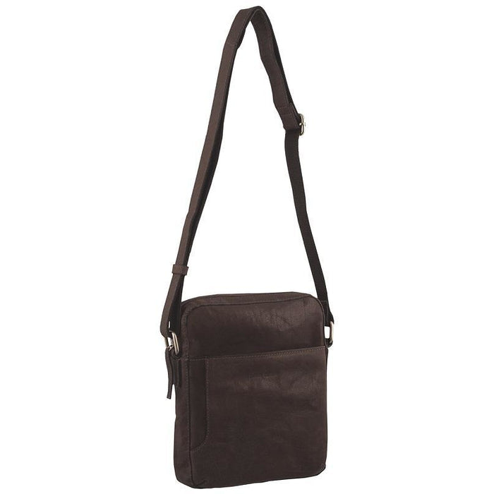 Pierre Cardin Rustic Leather iPad Cross Body Bag PC2795