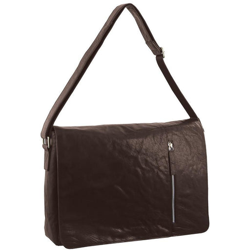 Pierre Cardin Rustic Leather Computer/Messenger Bag PC2798