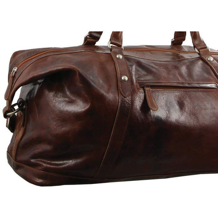 Pierre Cardin Rustic Leather Overnight Bag PC2824