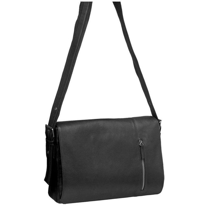 Pierre Cardin Leather Messenger/Computer Bag PC8867