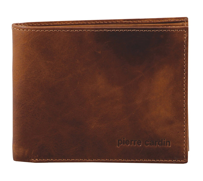 Pierre Cardin Rustic Leather Wallet 'Rfid Protect' PC2819