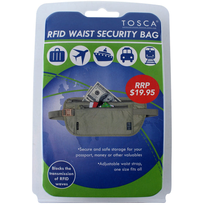 Tosca RFID Waist SecurityBag TCA011