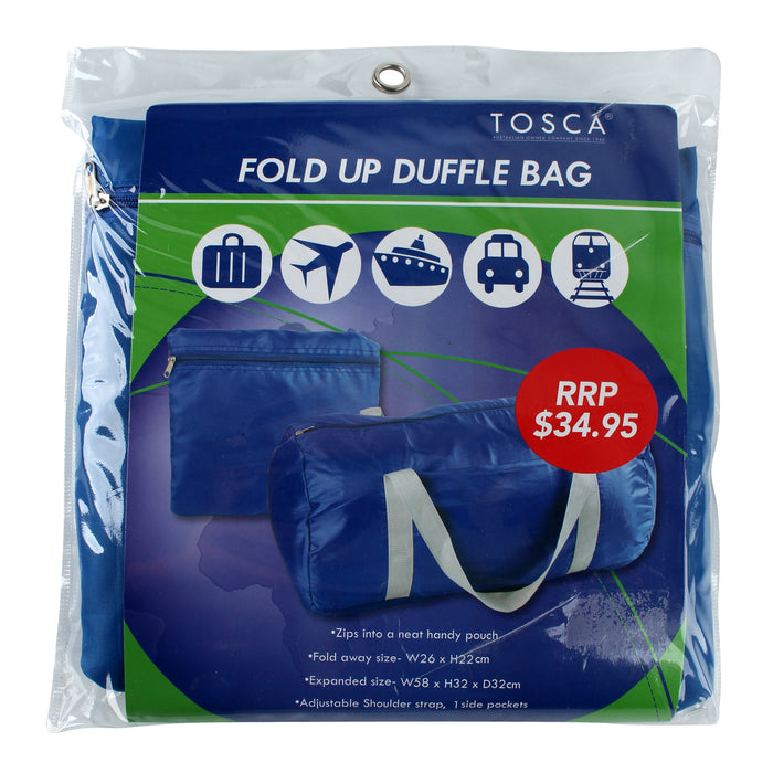 Tosca Fold Up Duffle Bag TCA016