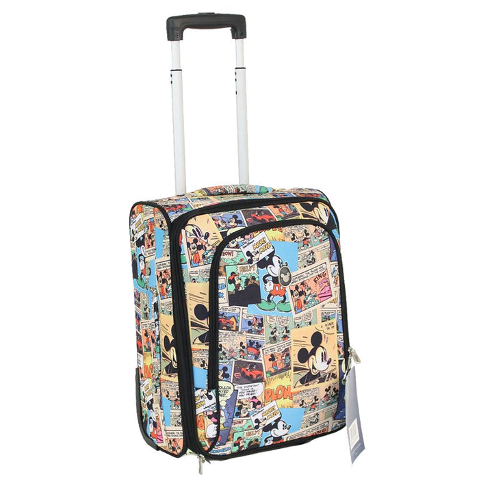 Disney Comic 55cm Small Carry On 2 Wheel Softside Suitcase