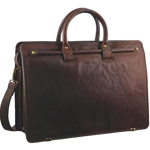 Pierre Cardin Rustic Leather Computer Bag - PC2809