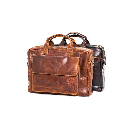 Oran Turku  Vintage Leather Satchel RH7002