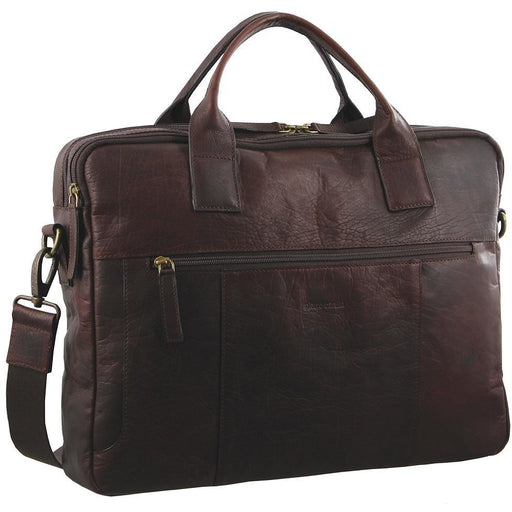 Pierre Cardin Rustic Leather Computer Bag PC2807