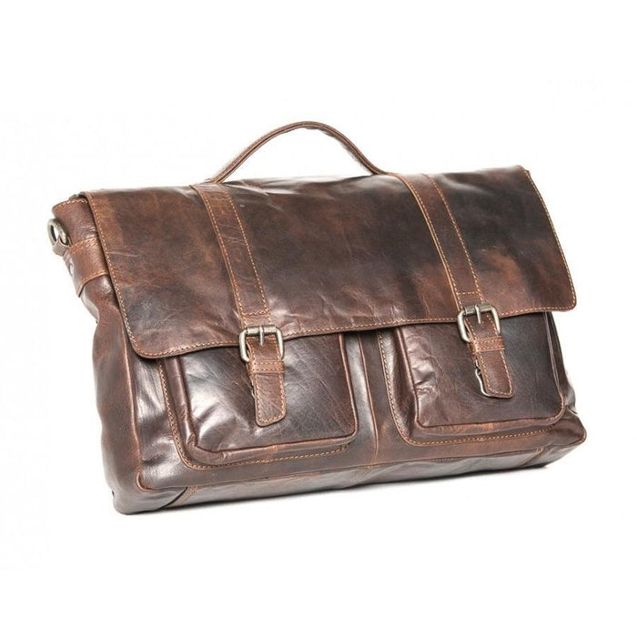 Oran Emerson Leather Satchel RH6000
