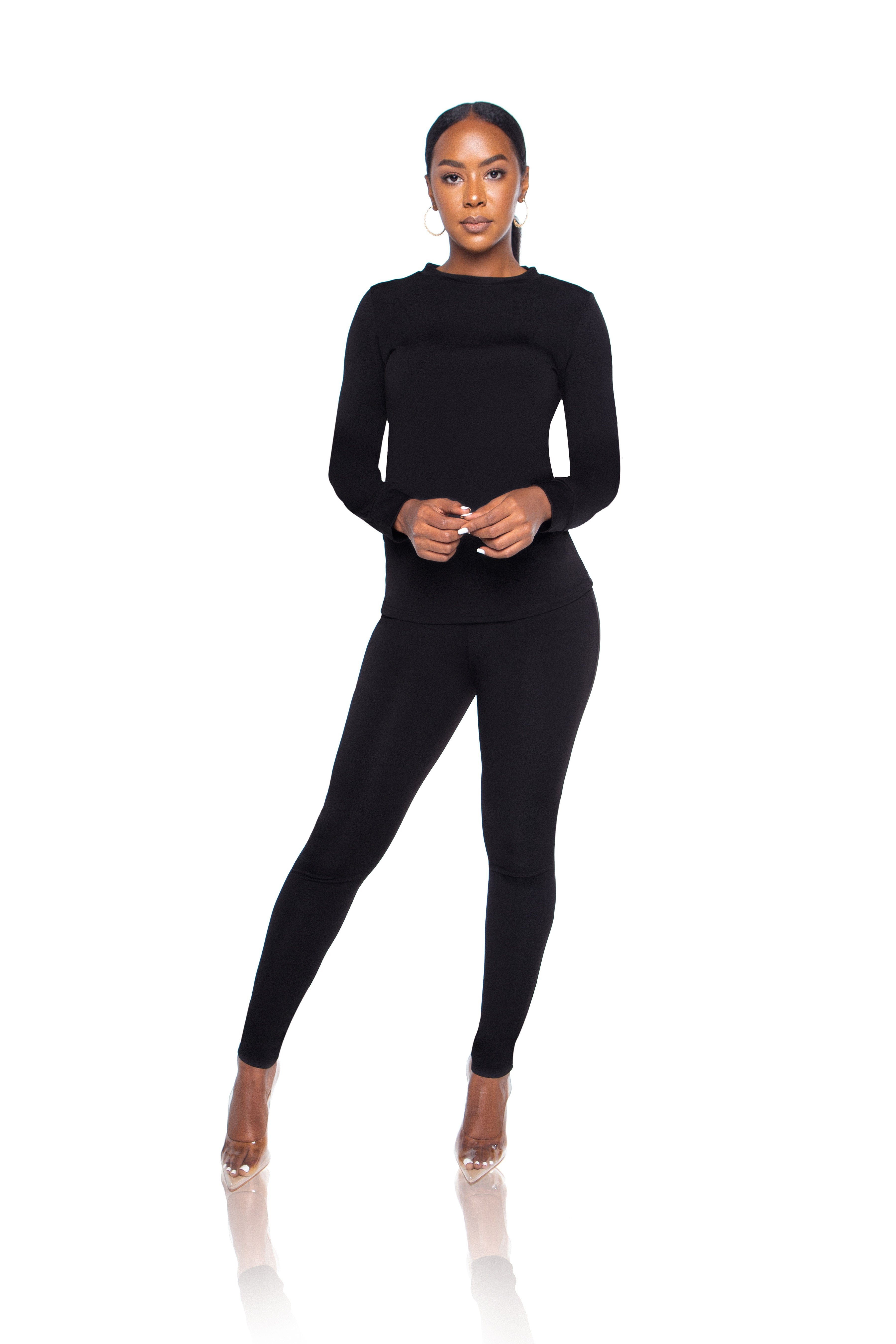 Aubrey Top - Black - ShopLuvB